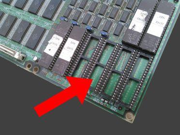 B基板・ICチップの抜けに注意